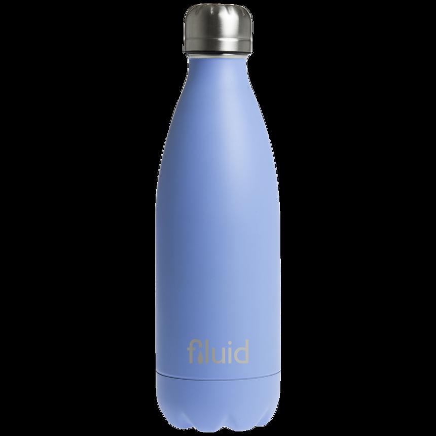 Himmelblå Farget Fluid Drikkeflaske
