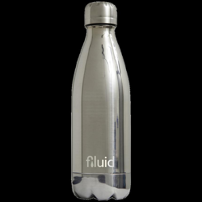 Sølv Metallfarget Fluid Drikkeflaske