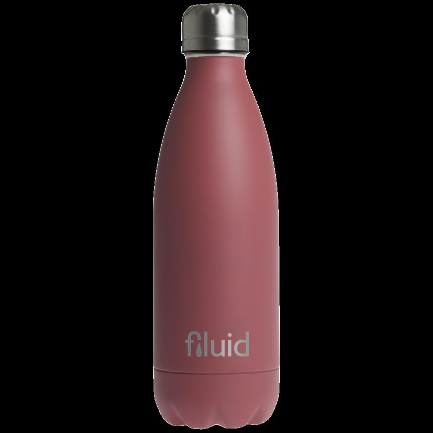 Rosa Farget Fluid Drikkeflaske