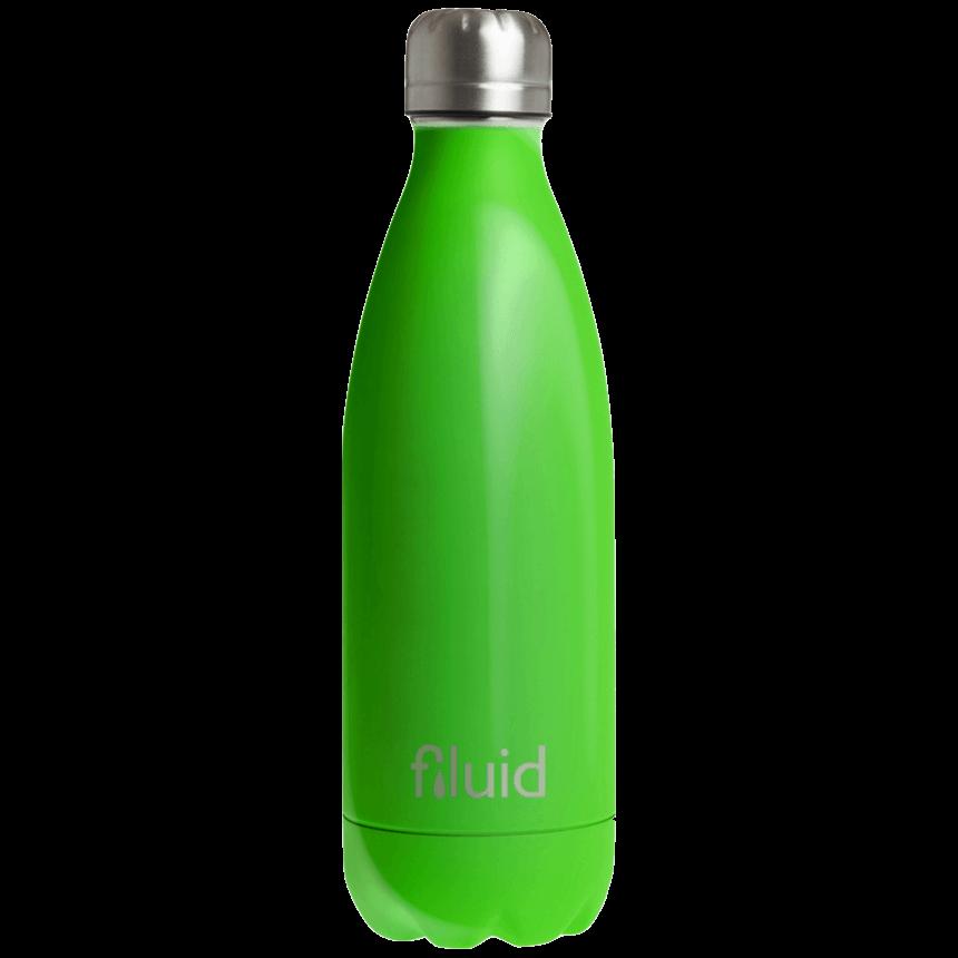 Grønn Farget Fluid Drikkeflaske
