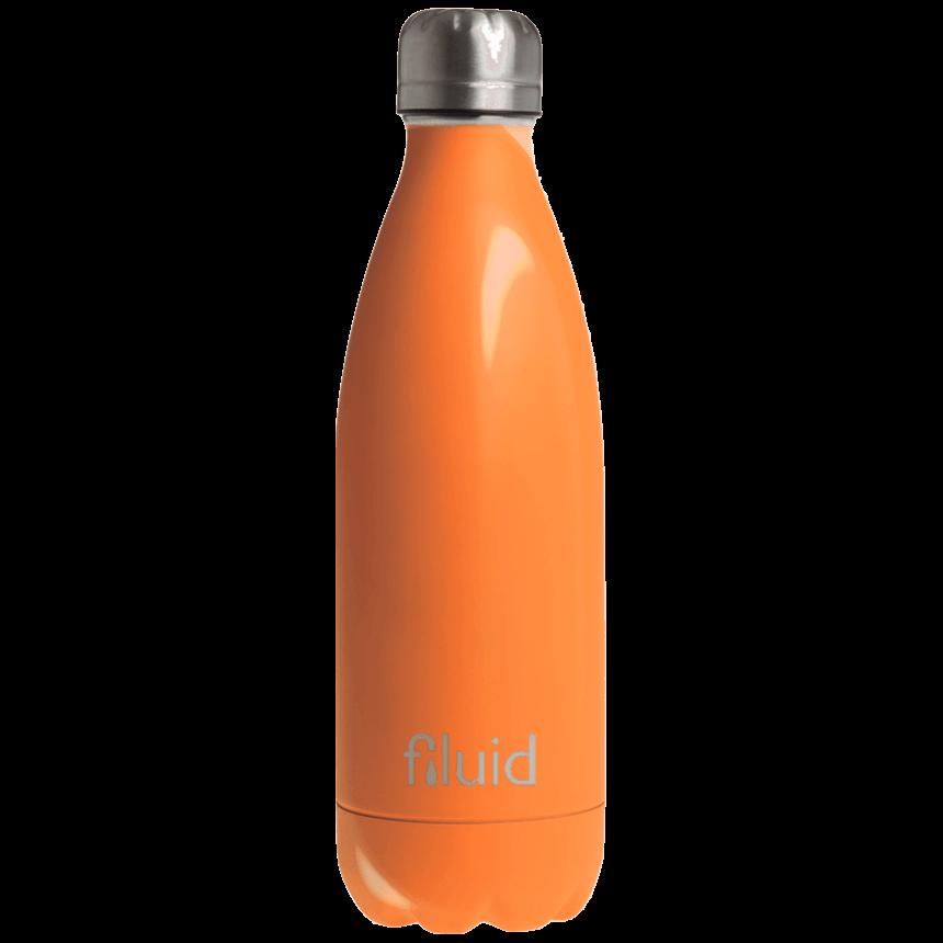 Oransje Farget Fluid Drikkeflaske